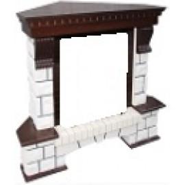 Портал для камина Pierre Luxe угловой