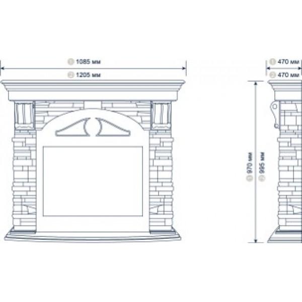 Портал для камина Torre